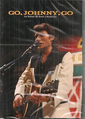 DVD JOHNNY HALLYDAY - Go, Johnny, go
