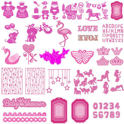 New 25 Types Metal Cutting Dies Stencil Scrapbook Paper Card Craft Embossing DIY