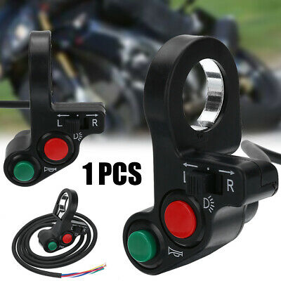 "Motorcycle 3in1 Horn Turn Signal Light Switch For 7/8"" Handlebar Dirt Bike New"