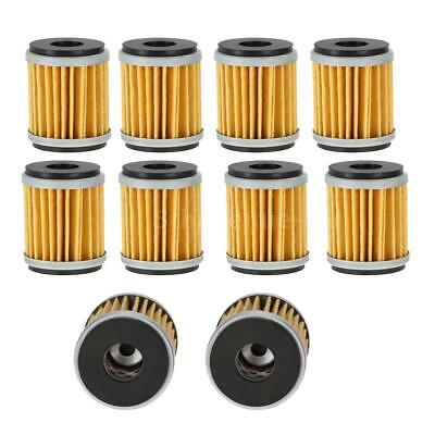 10PCS Oil Filter For YAMAHA YFZ450 YZ450F WR450F YZ250F WR250F YP125 VP125 WR125