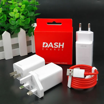 Original Oneplus 3 5 5T 6 Dash Fast Charge Wall Charger Adapter Type C Cable lot