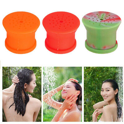 Portable Outdoor Silicone Shower Head for Camping Supplies Pet Bathing Sprinkler