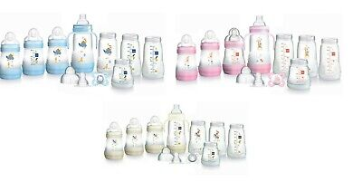 MAM Self Sterilising Anti Colic Starter Set Small (Available 3 Colours)