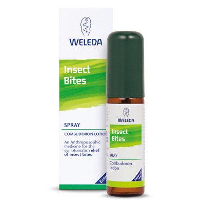 Weleda Insect Bites Spray 20ml - Homeopathic Product for relief of insect bites
