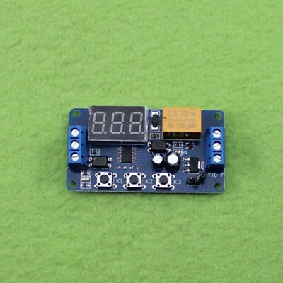 1 Way Relay Module 3V 3.7V 4.5V 5V 6V Time Delay Cycle Timing ON-OFF Switch