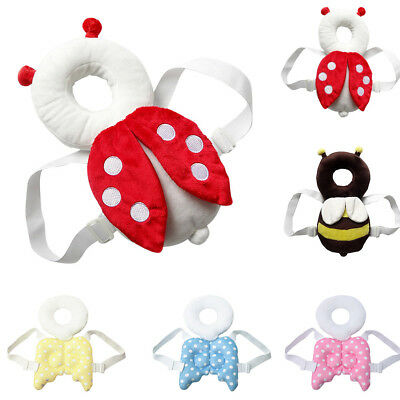 Baby Head Back Protector Pillow Pad Adorable Walker Safety Care Protection