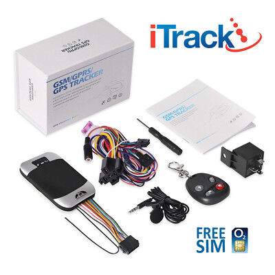iTrack GPS 303 VEHICLE CAR VAN FLEET AUTO GPS TRACKER TRACKING DEVICE - 303G