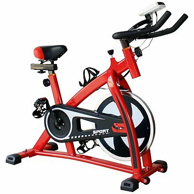 Pro fitness Stationary spinning Exercise Bike Cardio Indoor Cycling Bicycle AS