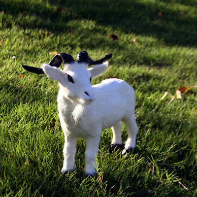 Small Goat Handicrafts Simulation Ornaments Toys 1 PC