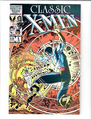 Classic X-Men #5 Jan 1986 Marvel Comic.#87791D*8