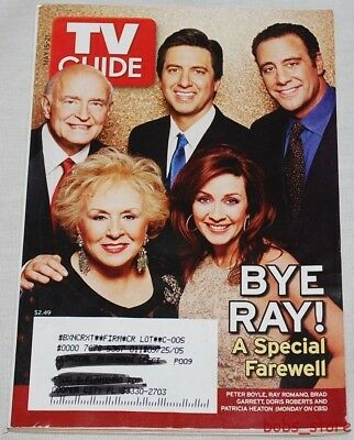 2005 TV Guide - MAY 15-21 / BYE RAY! A SPECIAL FAREWELL