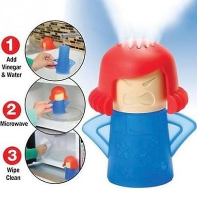 Microwave Cleaner Creative Kitchen Utensil Angry Mom