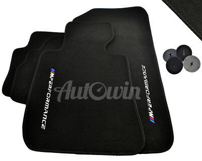 BMW Floor Mats NEW // M Performance TAILORED FIT RHD Vehicle UK Models 1988-2018