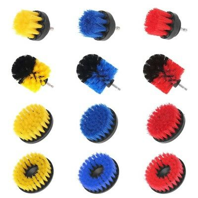 Drill Brush Soft Scrub Combo Car Wall Tile Leather Clean Attachment Tool 12 Type