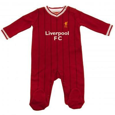 Liverpool Football Club Official Baby Kit Sleepsuit Babygrow 0-3 to 12-18 Months