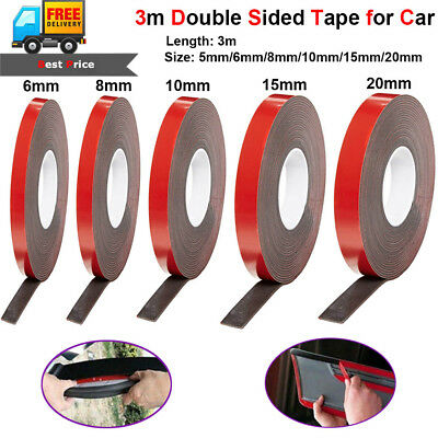 3M Strong Permanent Double-Sided Adhesive Glue Tape Super Sticky for Car Led