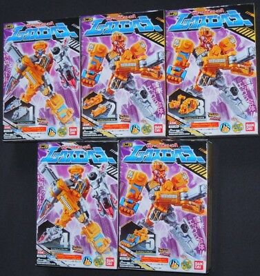 Lupinranger VS Patoranger Minipra VS Vehicle Coalescence Series 04 X Emperor Set
