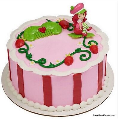 Strawberry Shortcake Cake Decoration Party Supplies Topper