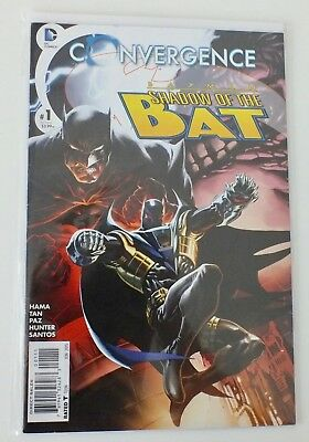 Convergence - Batman - # 1 - Bagged & Boarded - DC  - 2015 - NM - (595)