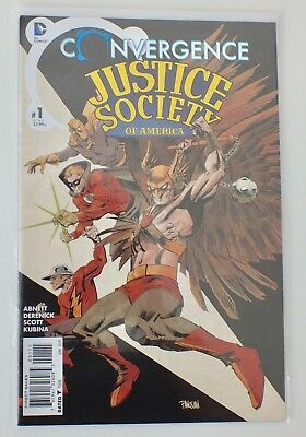 Convergence - Justice Society - # 1 - Bagged & Boarded - DC  - 2015 - NM - (600)