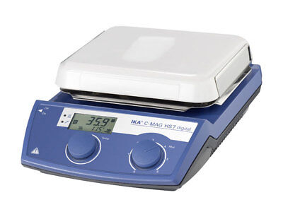 IKA C-Mag HS 7 Digital Display Hotplate Stirrer Analog Ceramic 120V 3487001