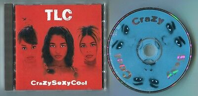 TLC CD CRAZY SEXY COOL © 1994 UK RnB Swing Rap 16-track-CD near mint