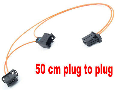 MOST Fibre Optic Loop Cable Bypass Connector fits Mercedes BMW Porsche Audi