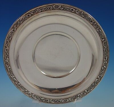 "Melrose by Gorham Sterling Silver Plate #1223 9"" Diameter (#2669)"