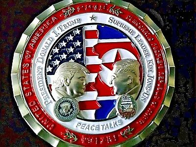 Korean Peace Talks Summit Coin - White House Official Issue  READY TO SHIP