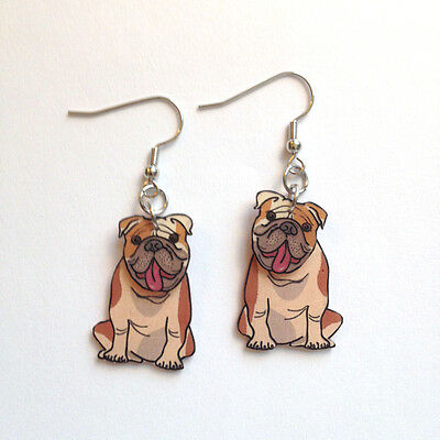 English Bulldog 3D Handcrafted Plastic Made in USA