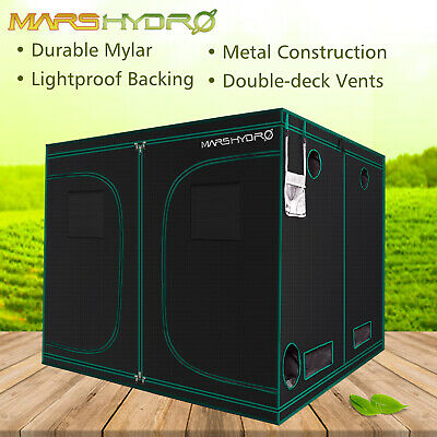 8' x 8' x 7' Grow Tent Reflective Mylar Non Toxic Same fabric with Gorilla Tent