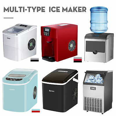 Commercial Ice Maker Ice Making Machine Up to 26lbs/40lbs/100lbs
