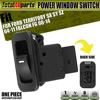 Electric Single Window Switch for Ford Falcon FG Territory SX SY SZ Illuminated