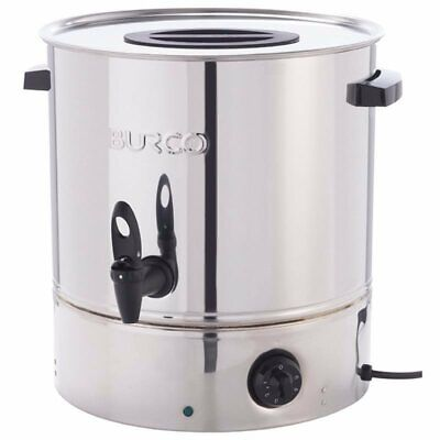 Burco 20Ltr Electric Water Boiler Manual Fill St/Steel Catering Tea Urn MFCT20ST