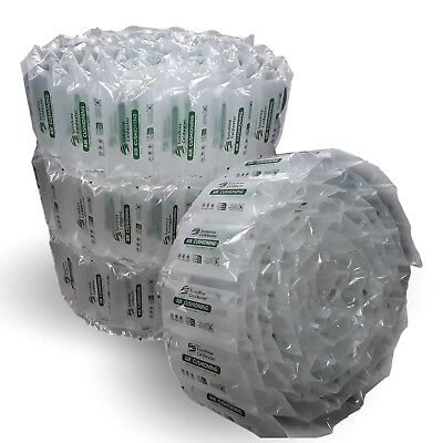 SunshineColdwater Air Pillows 330 ct 8x4 39 gal 6.5 cu ft for Shipping Packing