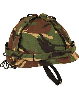 Kids Boys DPM Camo Soldier Army Helmet Fancy Dress Up Costume Military Hat