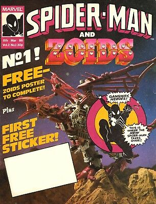 Uk Marvel Spider-Man & Zoids #1-51 Complete Run On Dvd