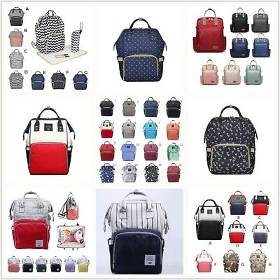AU Nappy Mummy Baby Changing Diaper Maternity Baby Bag Backpack Multifunctional