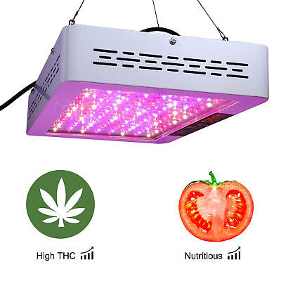 VANDER 600W Hydrokultur LED Full Spectrum Frequency Plants Gewächs Grow Lamp