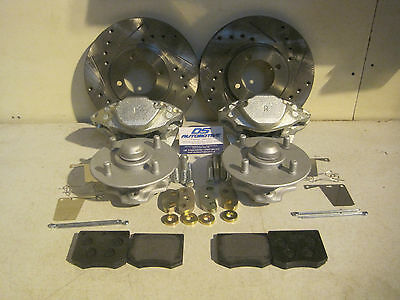 Mk2 Escort 1600 Sport Harrier Ghia 1300 240mm Vented Brake Kit Upgrade