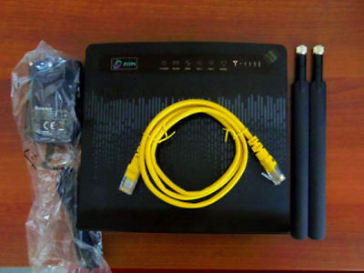 Unlocked HUAWEI B593 B593u-12 4G LTE WIFI ROUTER see Picture&description+Antenna