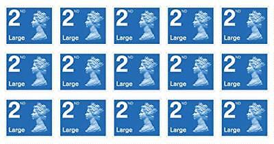 50 X 2nd Class Large letter stamps - Limited volume at 69p each (Face Value 79p)