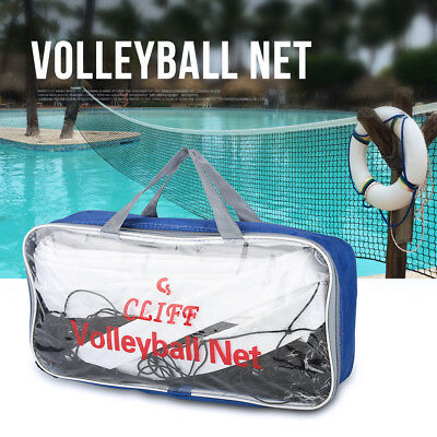Durable Standard Size Volleyball Net W/ Storage Bag for Beach Game Indoor Match