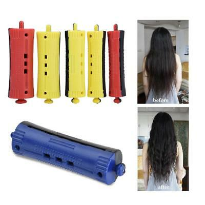 6Pcs Barber Hairdressing Hair Perm Rod Styling Hair Clip Curlers Hairdressing se