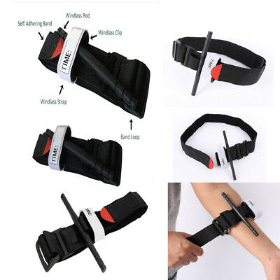 Emergency Survival Tool Tourniquet Rapid One Hand Application First Aid Stops