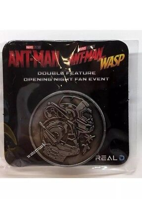 Ant-Man and the Wasp Opening Night Fan Event Coin Medallion Marvel Avengers