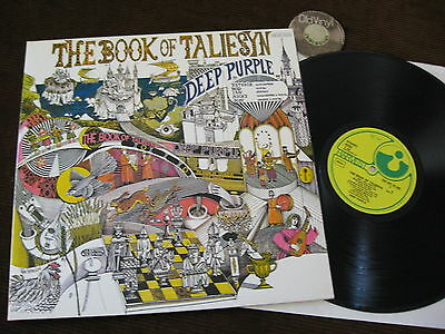 LP Deep Purple The Book of Taliesyn Germany | M- to EX