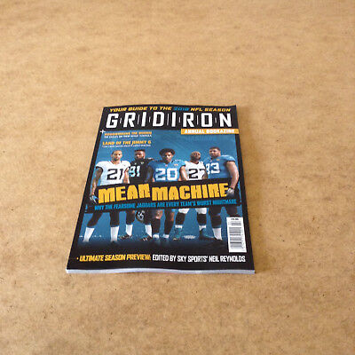 Gridiron Annual Bookazine Guide To 2018 Nfl Season American Football Preview