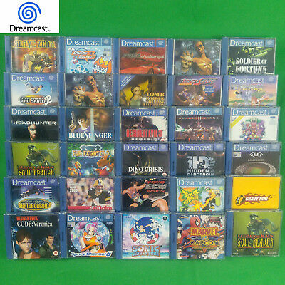 Dreamcast Games Rare Collection Selection Rare *Multi Listing*