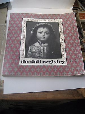 The Doll Registry Reference Book By Florence Theriault